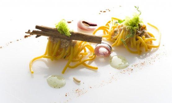 Spaghetti in salsa moresca Taratatà