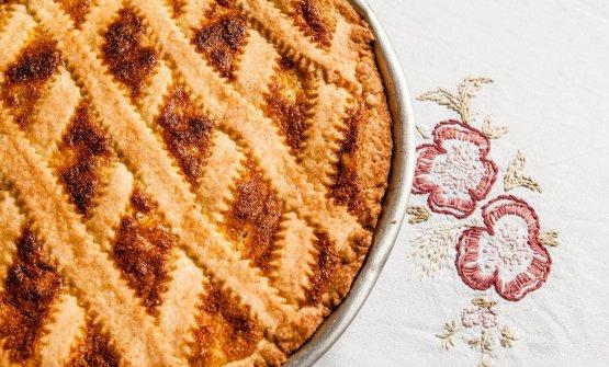 Una classica pastiera napoletana (foto La Cucina I