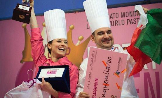 Federica Boldetti,Pastry Queen 2016.E' unodei campionati internazionali previsti al Sigep, e che Valrhona promuove