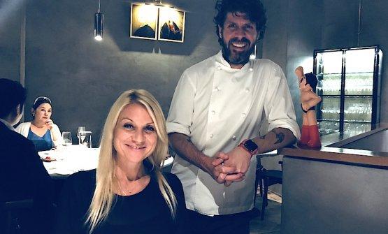 Paulo Airaudo (e la giornalista Elisabetta Canoro)