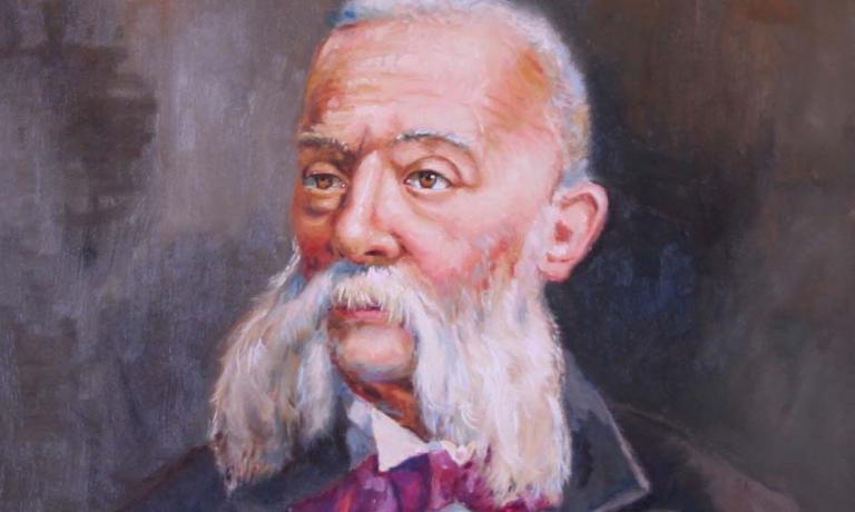 Un ritratto di Pellegrino Artusi