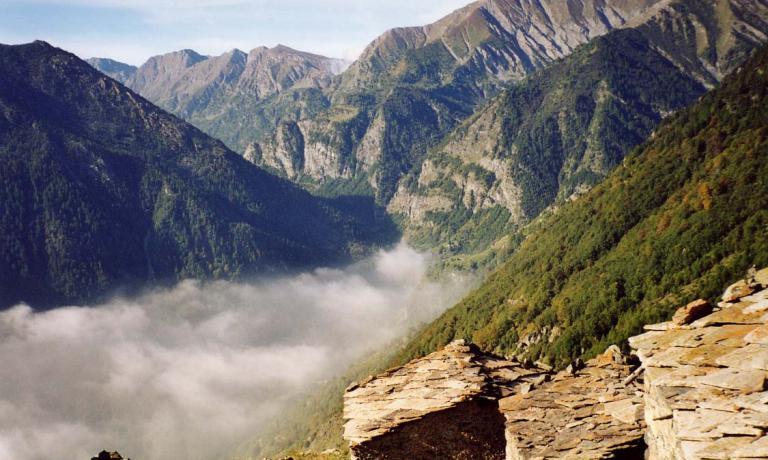Le montagne della Val Pellice