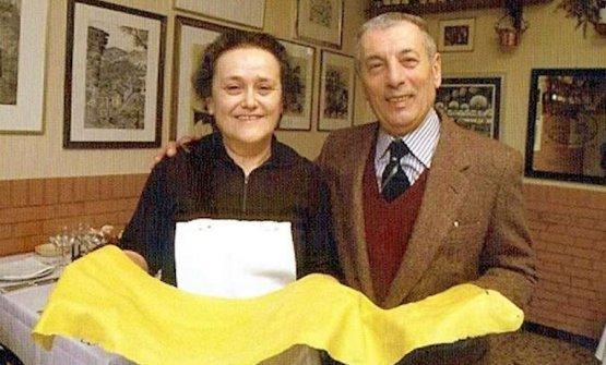 Mirella e Peppino Cantarelli