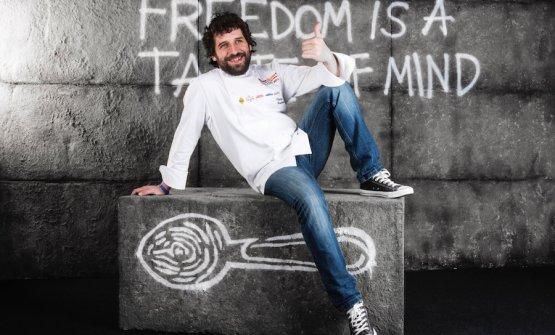 Matias Perdomo a Identità Milano 2016. Lo chef del milanese Contraste ha avuto una stella