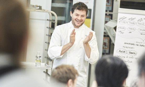 Lo chef Peter Brunel nello scatto di Carlo Baroni