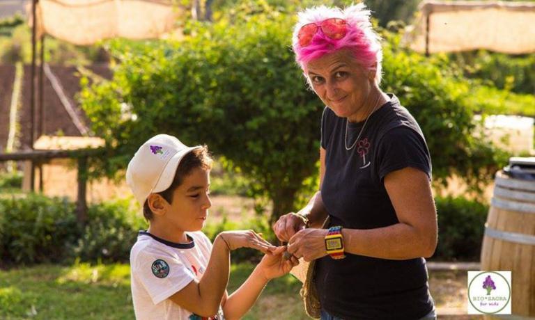 Ieri, domenica 2 ottobre, è tornata la Bio*Sagra for Kids, iniziativa solidale voluta, tra gli altri, dalla chef capitolina Cristina Bowerman, come abbiamo raccontato qui