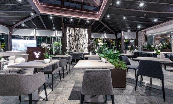 La sala diWhite, neonato ristorante e lounge bar