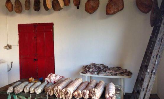"""Los Gurises (""""i ragazzini"""" in spagnolo), telefono +598.43504745,�� una estancia�uruguaiana, che dista 180 km da Montevideo. E' stata fondata dagli italiani Luigi ed Eva Olivieri, ex allevatori e commercianti. Tenuta di caccia e agriturismo, propone moltissime squisitezze di produzione propria, tra cui spiccano i prodotti di carne bovina e suina"""