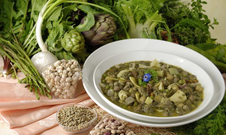 Le Virtù, il piatto della tradizione teramana che