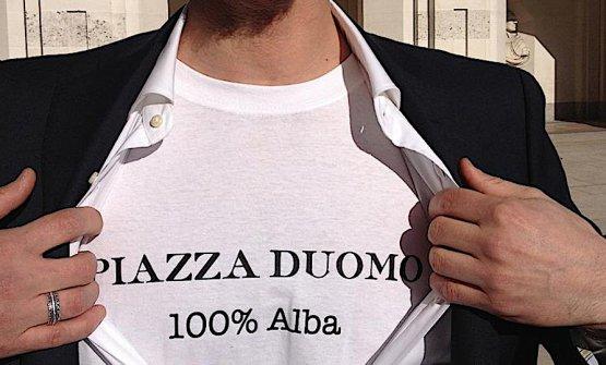 Enrico Crippa e una singolare dichiarazione d'amore per Alba e il Piazza Duomo alla cerimonia dei World's 50 Best Restaurants a Londra nel 2013