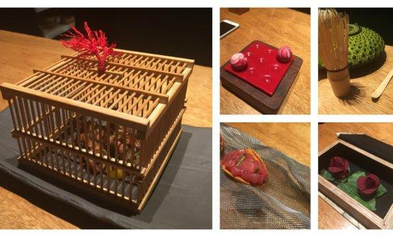 Alcuni dei fantastici piatti assaggiati da Cristina Bowerman