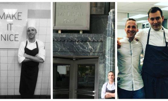Vi raccontiamo la storia di MattiaRancati, l'italiano che lavora all'Eleven Madison Parkdi New York, primo ristorante al mondo per la 50 Best