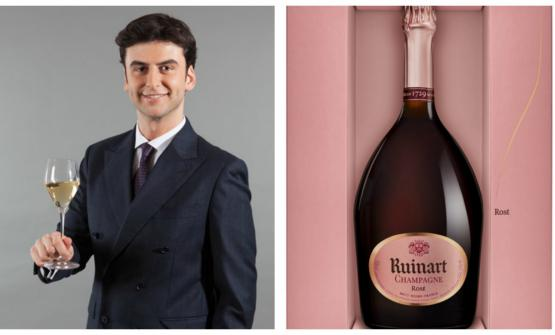 Andrea Pasqua, senior brand manager di Ruinart in Italia