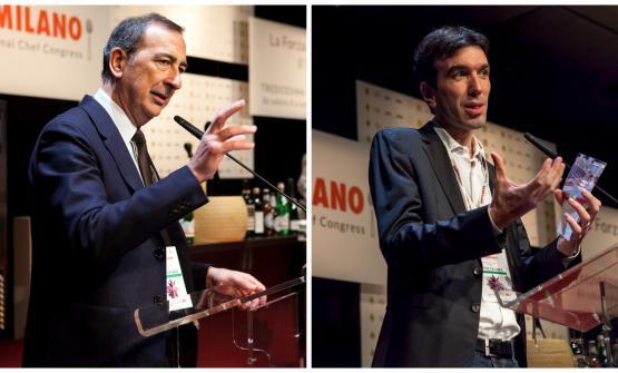 Il sindaco di Milano, Beppe Sala, e il ministro de
