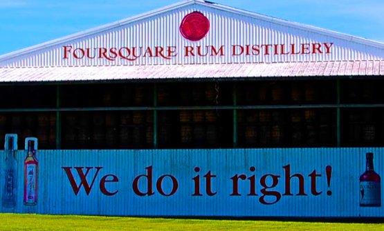 La distilleriaFoursquaredi Barbados