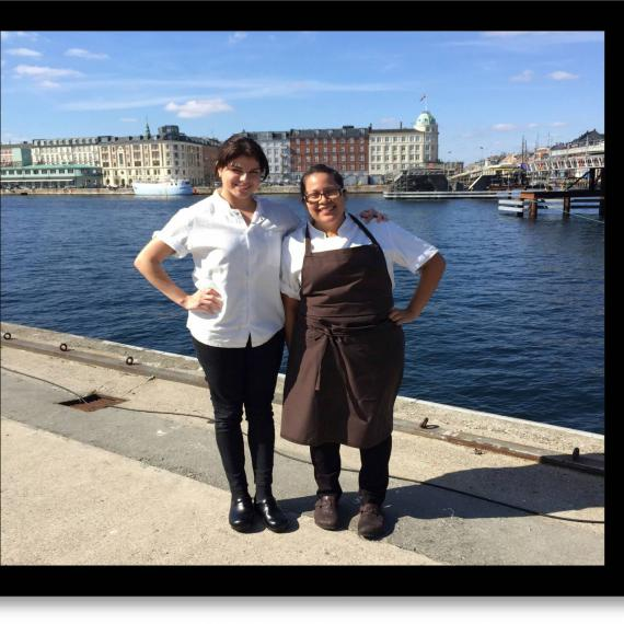 Rosio Sanchez e Laura Cabrera