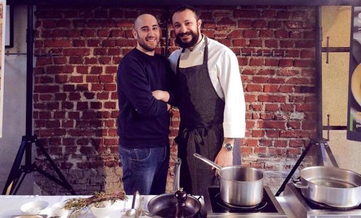 Pietro Caroli, a sinistra, e Diego Rossi: insieme apriranno ai primi di maggio la Trattoria Trippa, in zona Porta Romana a Milano