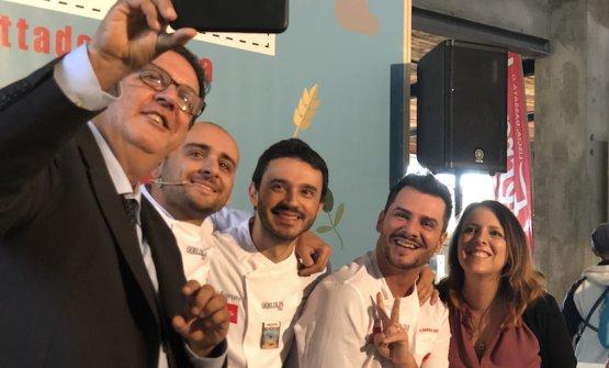 Luciano Pignataro,Luca Pezzetta, Simone Lombardi,Pier Daniele Seu, Luciana Squadrilli