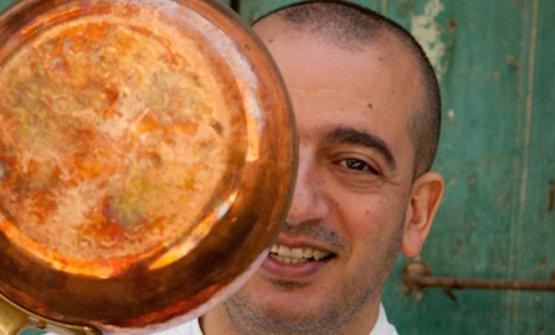 Pino Cuttaia, chef e patron de La Madia di Licata (Agrigento), è uno dei volti più importanti della cucina d'autore in Sicilia