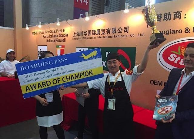 Liu Ya Qi, campione cinese di pizza,a maggio ha