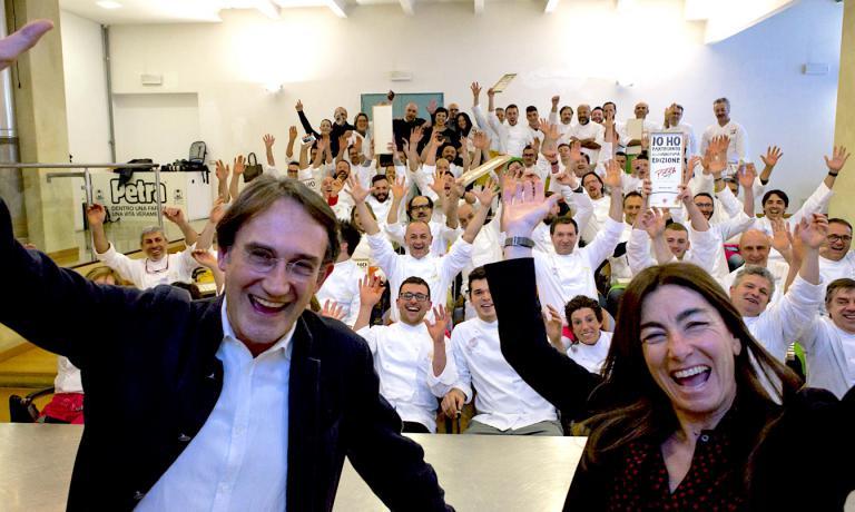 Piero Gabrieli, Chiara Quaglia & pizzaioli: foto finale dell'undicesima edizione di PizzaUp