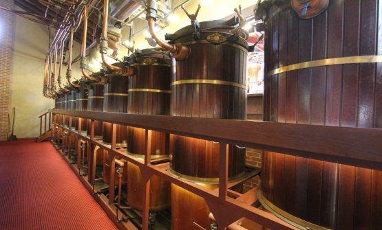 L'impianto per la distillazione della grappa