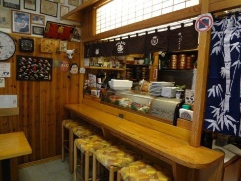 Inside Poporoya, perhaps the most historic Japanese restaurant in town