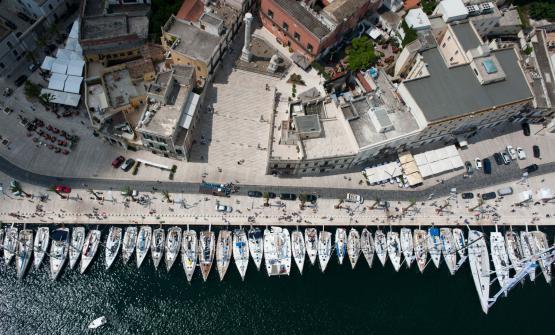 Il porto di brindisi, in occasione della regata Br