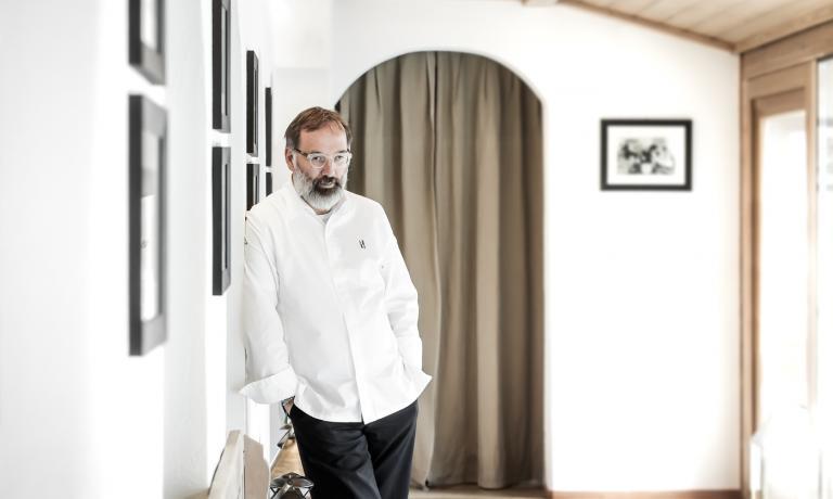 Norbert Niederkofler nella foto diDaniel Töchterle