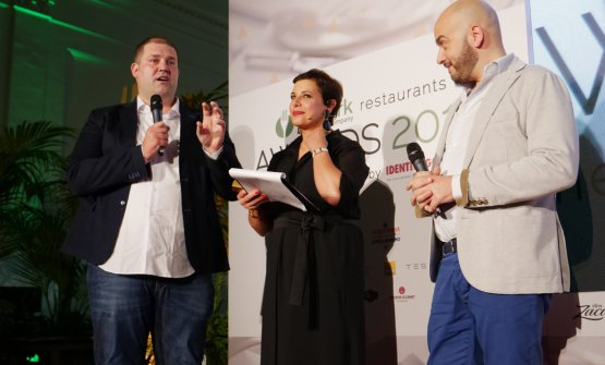Pietro Leemann could not participate. He was represented by the chef of Joia Sauro Ricci