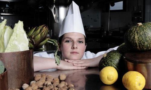 Sara Preceruti, born in 1983, chef at La Locanda d