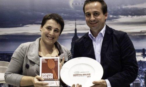 Antonia Klugmann premiata nel 2012 come cuoca dell'anno per la Guida di Identità Golose