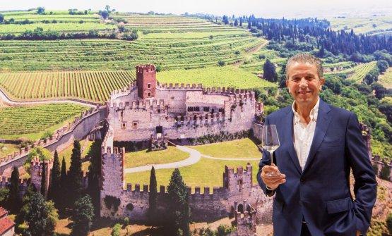 Il presidente del Consorzio Vini Soave, Sandro Gini