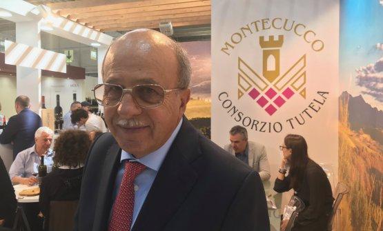 Il presidente del Consorzio Claudio Carmelo Tipa