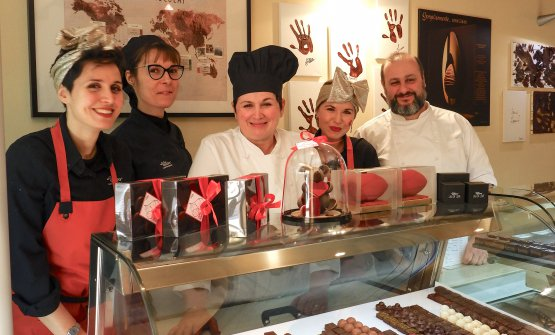 Cinzia Alfieri e il suo team
