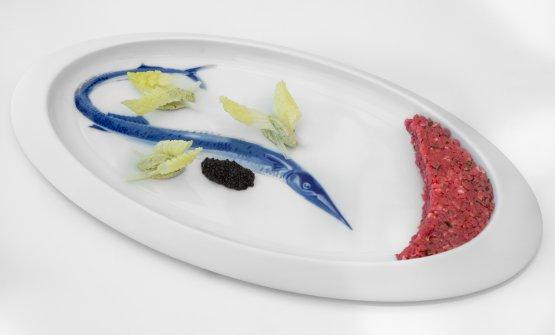 Manzo, Ostrica e Caviale: il piatto dell'estat