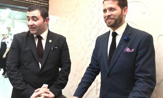 José Antonio Navarrete e Giovanni Matromarino