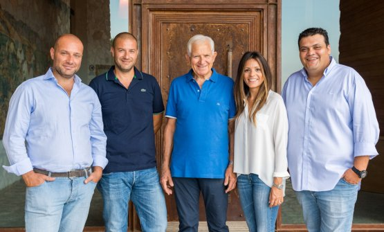 Raffaele, Paolo, Nicodemo, Teresa e Francesco Librandi