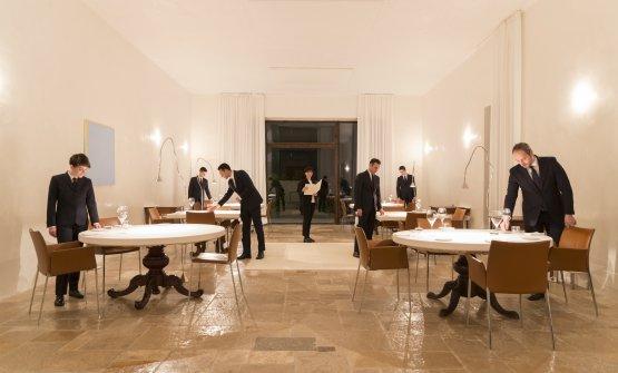 La sala del ristorante Reale (foto Barbara Santoro)