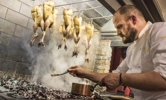 Errico Recanati, 47 anni, chef di Andreina a Loret