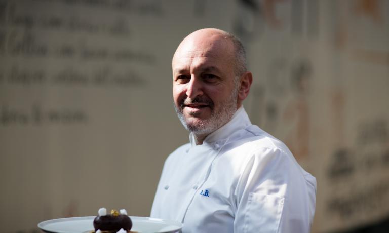 Alessandro Breda, chef del Gellius (foto Renato Vettorato)