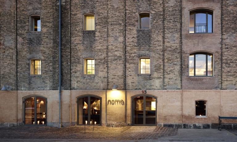 L'ingresso attuale del Noma: il ristorante servirà gli ultimi clienti fino a febbraio 2017