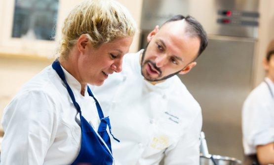 Ana Rošcon Alessandro Rinaldi, resident chef di Identità Milano