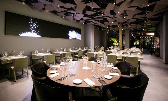 La sala ristorante di Identità Golose Milano