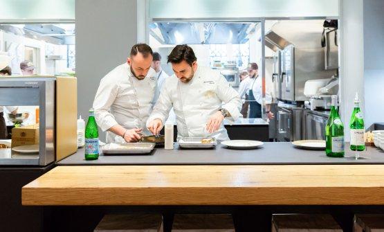 Con Alessandro Rinaldi, resident chef di Identità Golose Milano