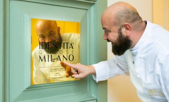 Domingo Schingaro torna a cucinare a Identità Golose Milano