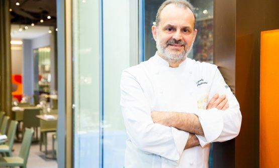 Nicola Portinari, chef de La Peca di Lonivo (Vi), due stelle Michelin, è a Identità Golose Milano ancora per tre cene, fino a sabato 12 gennaio. Clicca qui per prenotare.(Tutte le foto sono diSonia Santagostino-Onstagestudio)