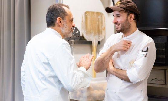 Nicola Portinari dialoga conGabriele Tangari, pastry chef di Identità Golose Milano