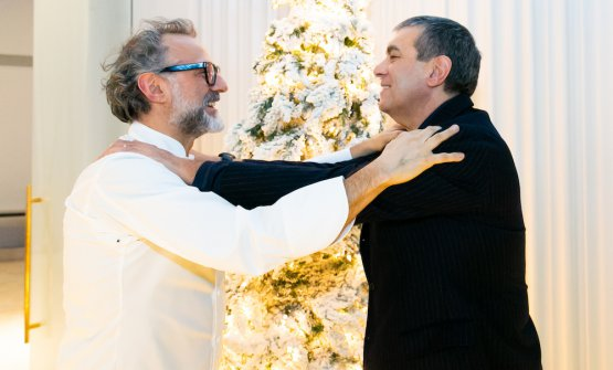 Massimo Bottura e Claudio Ceroni