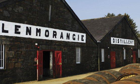 Glenmorangie, la distilleria fondata a Tain - sulla costa meridionale del Dornoch Firth nella parte nord-orientale della Scozia